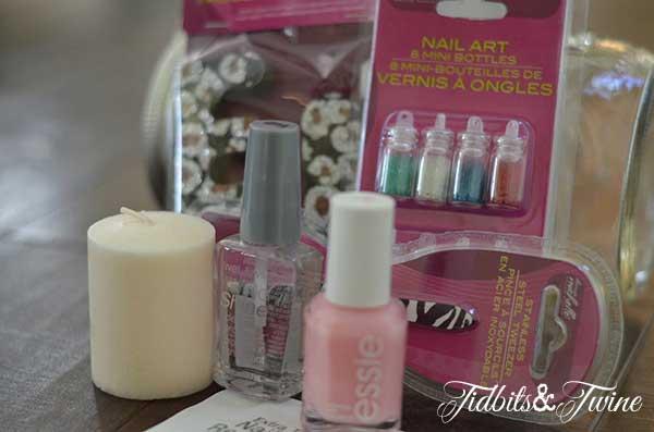Mason Jar Manicure Set Tidbits&Twine