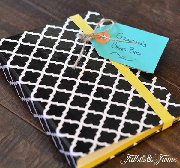 Teacher Appreciation Grandma Brag Book - Tidbits&Twine
