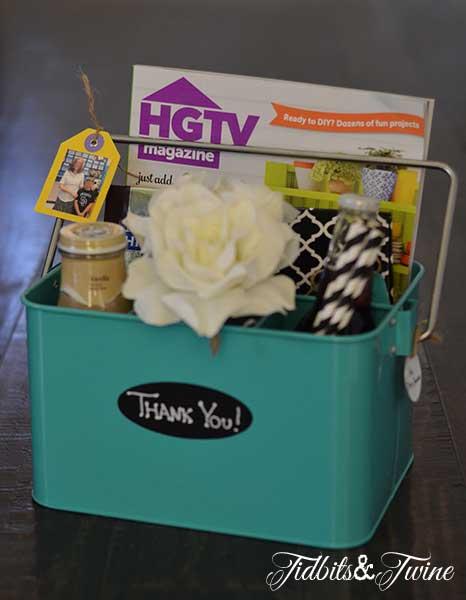 Teacher Appreciation Gift – Kickin' Back Caddy