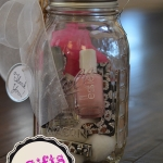 Tidbits&Twiine Mason Jar Manicure Kit and Lantern