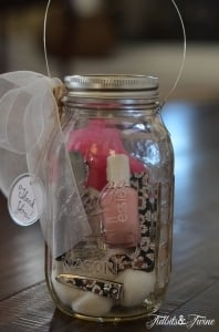 Tidbits&Twine Teacher Appreciation Mason Jar Manicure Set and Light2