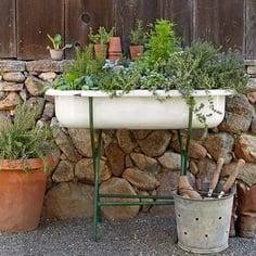 Vintage Tub - Greenery