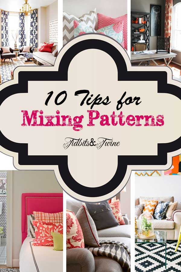 10 Tips for Mixing Patterns