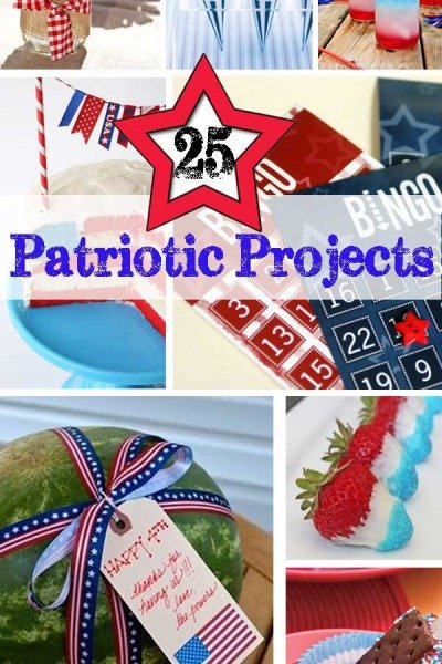 25 Patriotic Projects – 4th of July Party Roundup