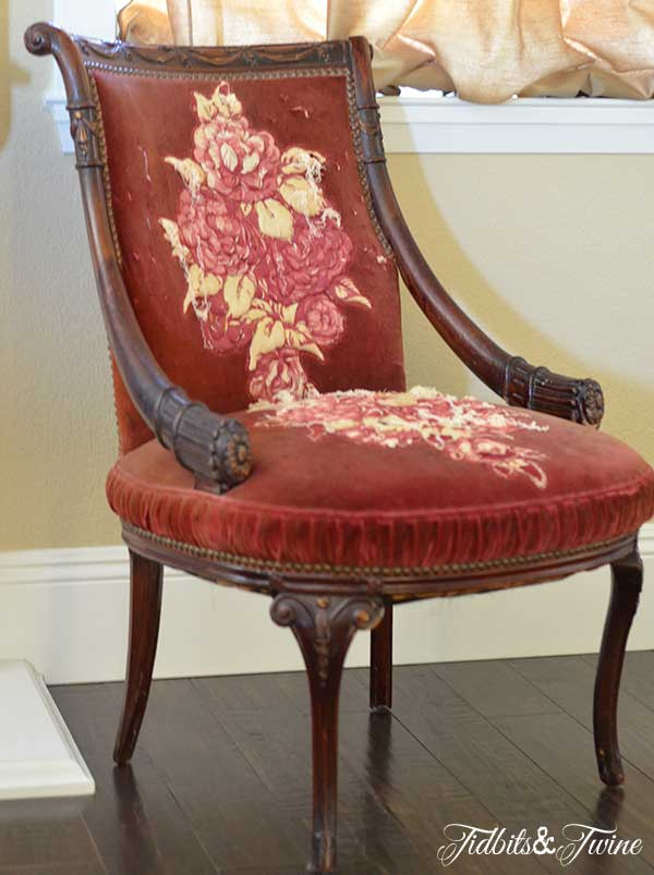 Antique Chair 5 Tidbits&Twine