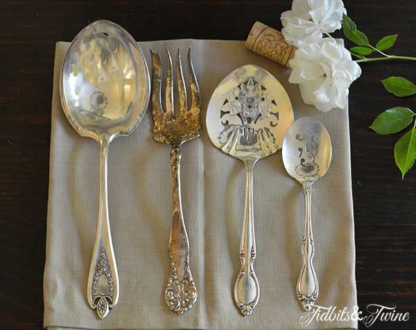 Antique Flatware Tidbits&Twine