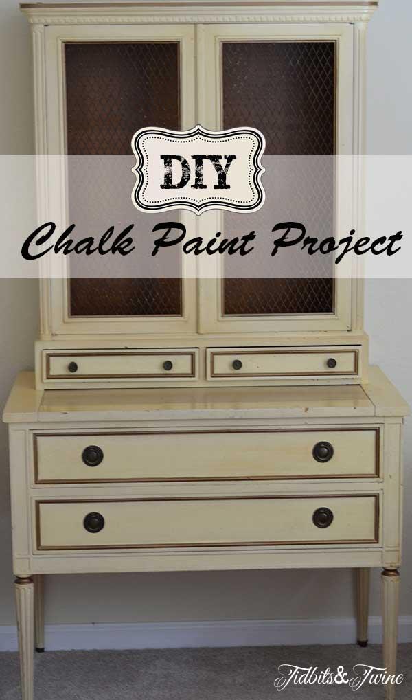 DIY Chalk Paint Project Tidbits&Twine