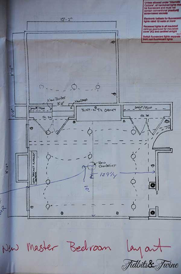 Master Bedroom Floorplan Tidbits&Twine