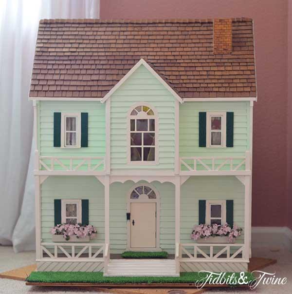 Tidbits&Twine Handmade Dollhouse 2