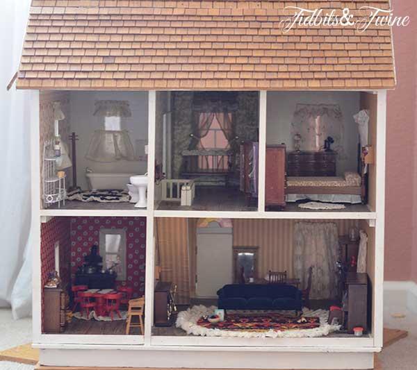 Tidbits&Twine Handmade Dollhouse 4