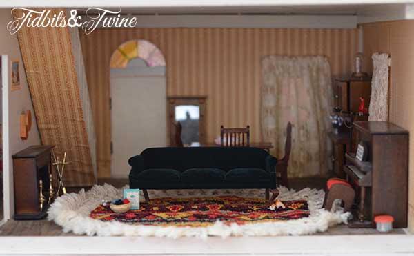 Tidbits&Twine Handmade Dollhouse 6