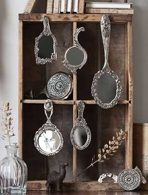 Tidbits&Twine Silver Mirror Collection