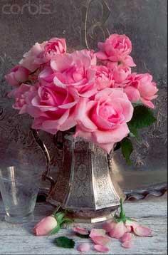 Tidbits&Twine Silver Teapot Vase