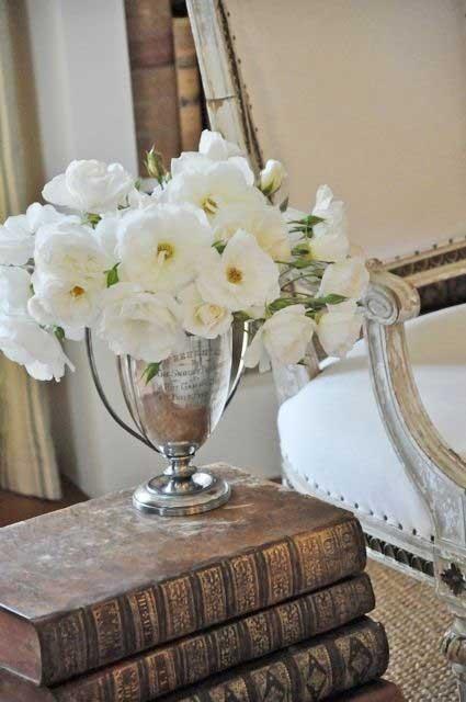 Tidbits&Twine Silver Trophy Vase