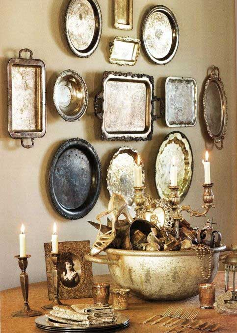 Tidbits&Twine Silver Wall Art Tray Collection