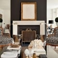 mantel-with-accent-wall Tidbits&Twine