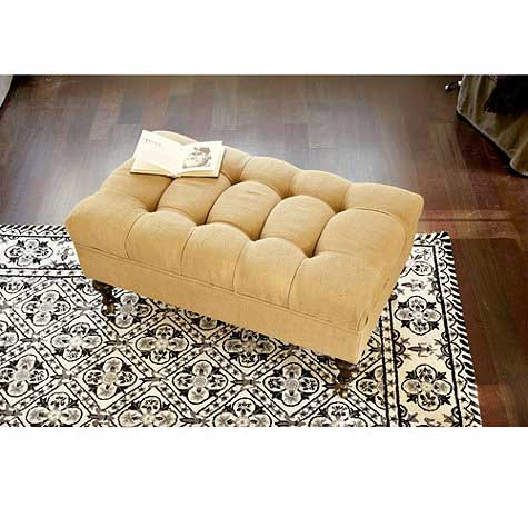 In Search Of The Perfect Tufted Ottoman