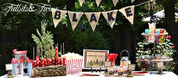 Tidbits & Twine Backyard Campout 3