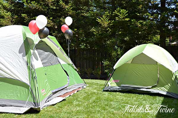 Tidbits & Twine Backyard Campout