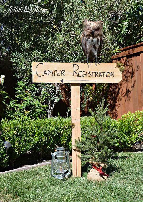 Tidbits & Twine Camper Registration