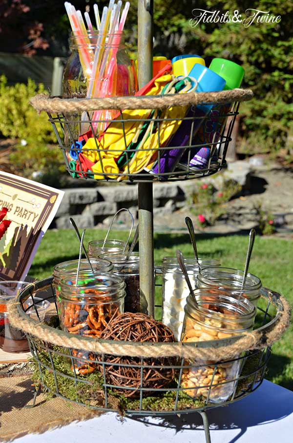 Tidbits & Twine Trail Mix and Party Station
