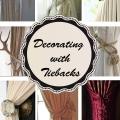 Tidbits&Twine - 8 Unique Curtain Tiebacks