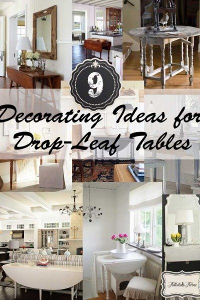 Drop-Leaf Table Love