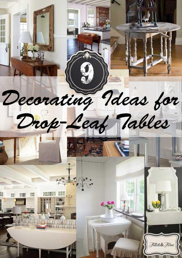 Drop-Leaf Table Love