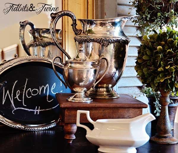 Tidbits&Twine Buffet Silver