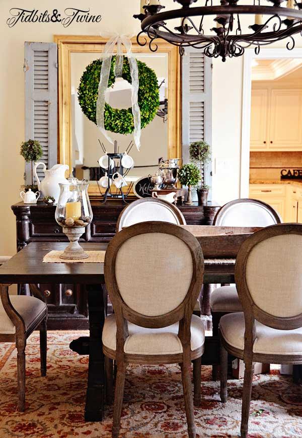 Tidbits&Twine Dining Room