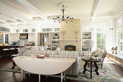 Tidbits&Twine Drop Leaf Sofa Table