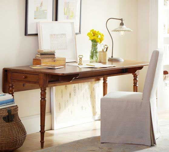 Tidbitsu0026Twine Drop Leaf Table Desk