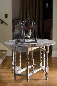 Tidbits&Twine Gate Leg Entry Table