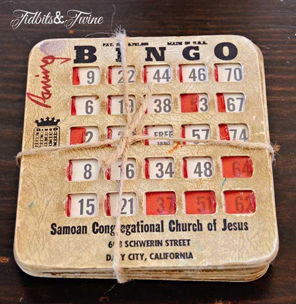 Tidbits&Twine Vintage Bingo Cards