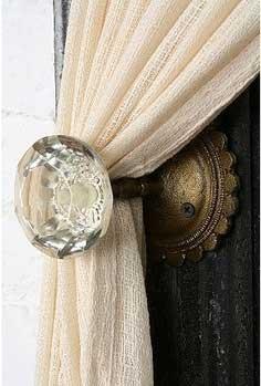 TidbitsTwine Vintage Doorknob Tieback