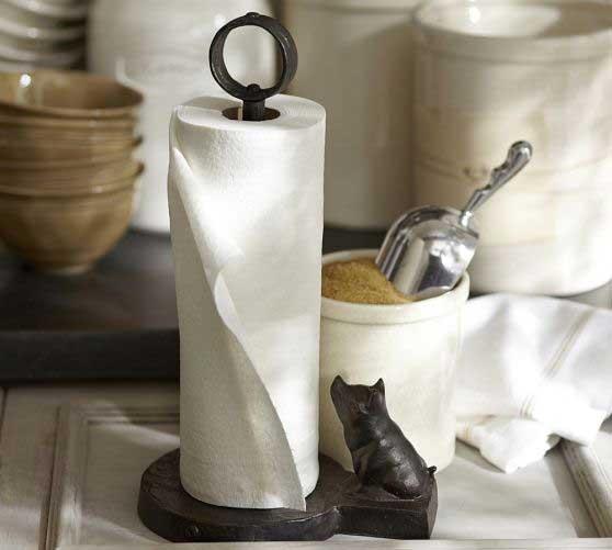 Vintage Blacksmith Paper Towel Holder