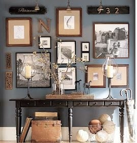 Pottery Barn Collected Gallery Wall
