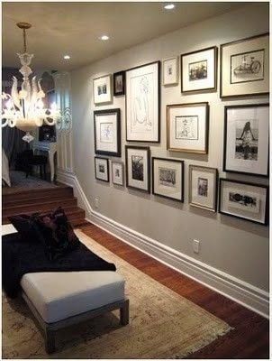 Gallery Wall Design 10 tips for creating a collected gallery wall | tidbits&twine