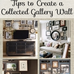 How to create a collected eclectic gallery wall
