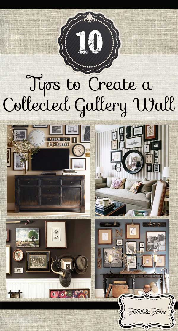 10 tips for creating a collected gallery wall. Black Bedroom Furniture Sets. Home Design Ideas