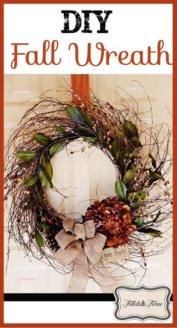 Tidbits&Twine DIY Fall Wreath