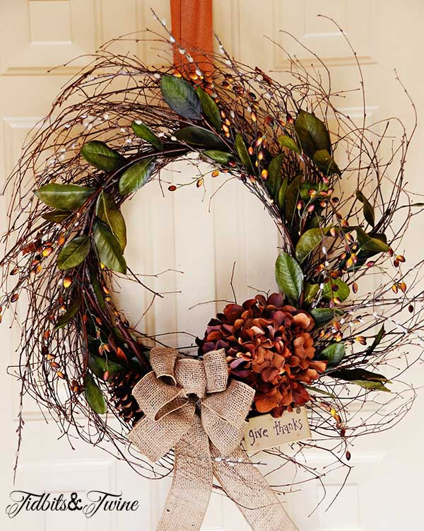 Tidbits&Twine Fall Wreath