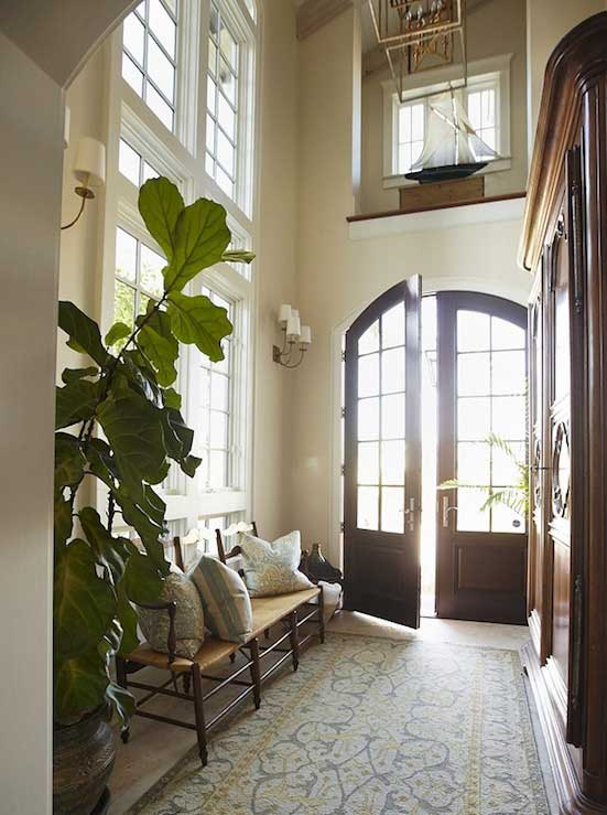 Tidbits&Twine Fiddle Leaf Fig Entryway