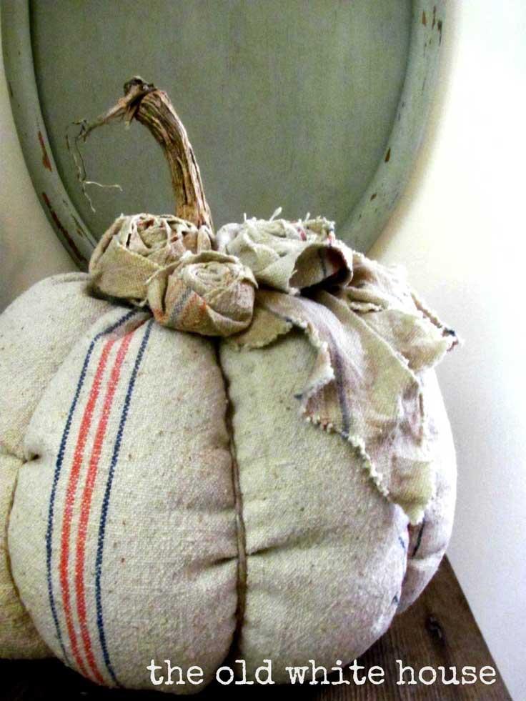 12 Gorgeous Grain Sack Ideas
