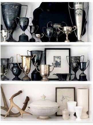 Tidbits&Twine Informal Balanced Trophy Display