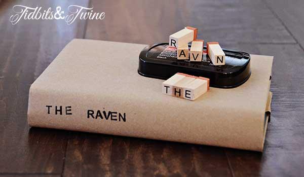 Tidbits&Twine Kraft Paper Book Covers Step 8