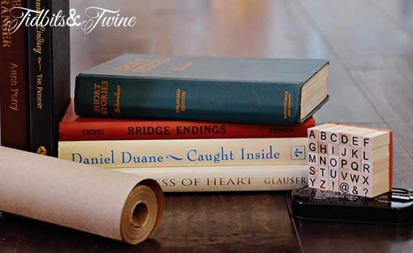 Tidbits&Twine Kraft Paper Book Covers