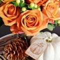 Tidbits&Twine Roses and Berries Fall Display 2