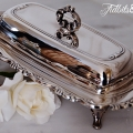 Tidbits&Twine Silver Butter Dish 2
