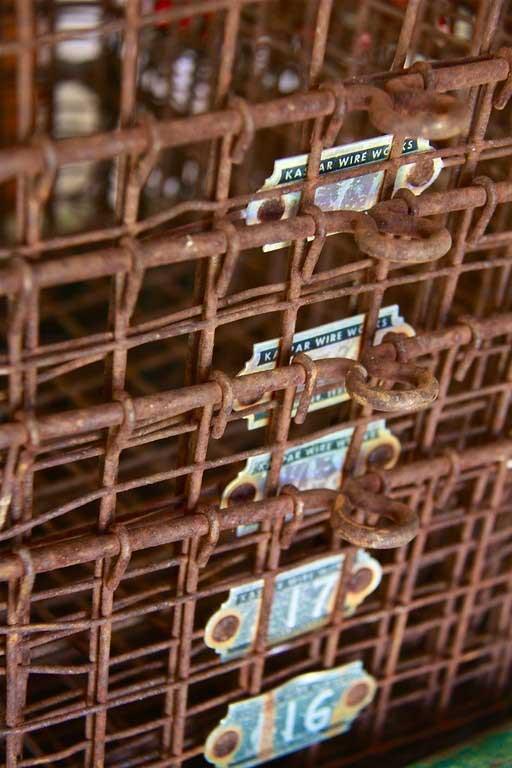 Tidbits&Twine Vintage Oyster Baskets